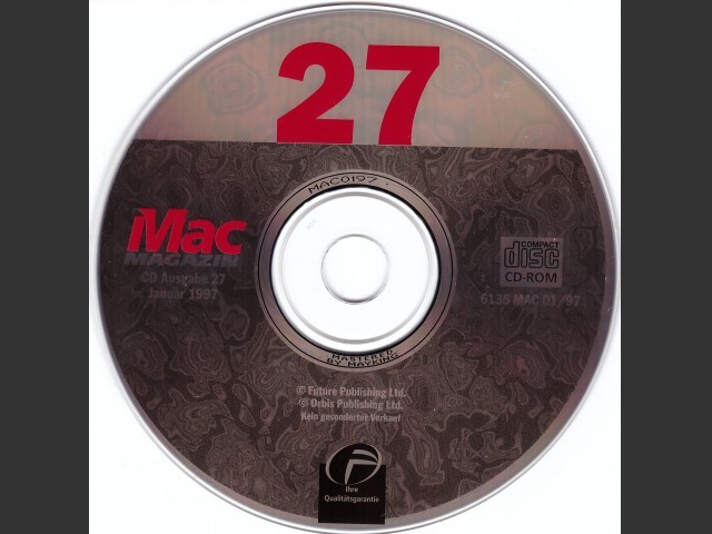 Mac Magazin 27 (1997)