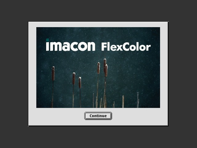 FlexColor scanner software (OS9 & OSX) (2003)