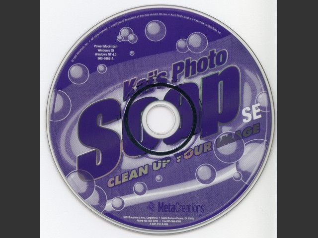Kai's Photo Soap SE (1998)