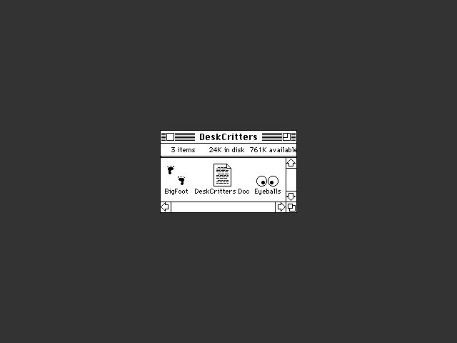 DeskCritters (1989)