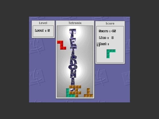 Tetronix 1.1-US (Tetris clone) (1992)