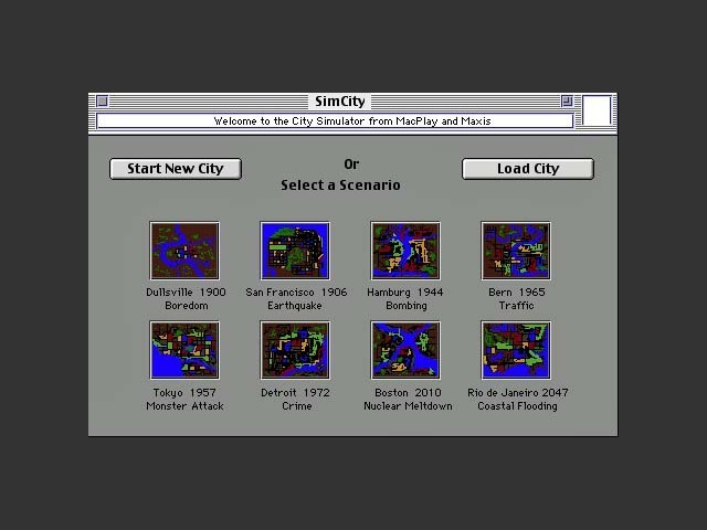 SimCity Enhanced (1995)