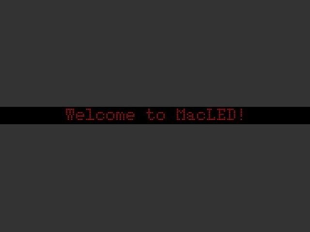 MacLED 1.3 (1995)