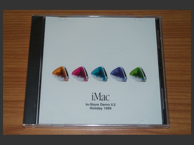 iMac In-store Demo V.2 Holiday 1999 (1999)