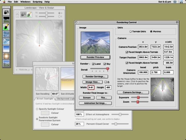 Terragen Classic 0.9 (2005)