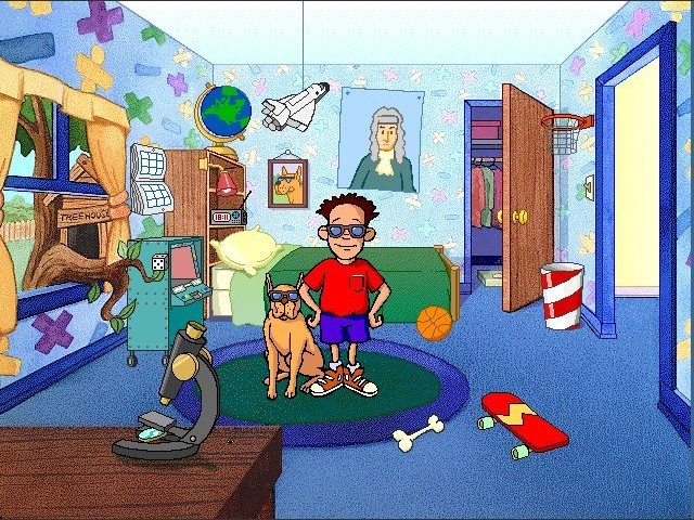 In Henry's room