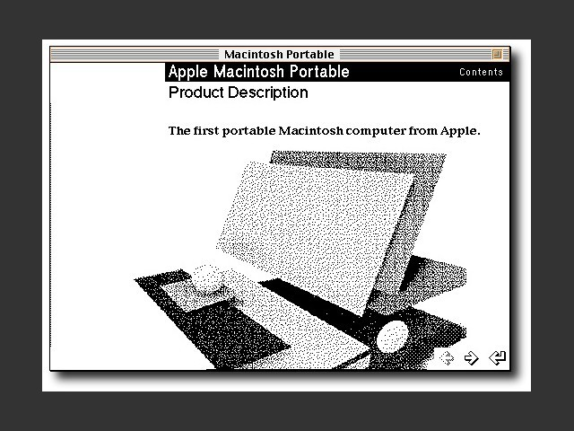 Apple Macintosh Portable (stack) (1990)