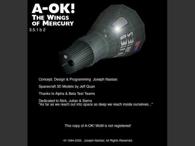 A-OK! The Wings of Mercury (2002)