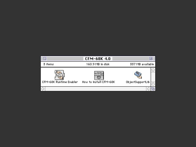 CFM-68K 4.0 (1997)