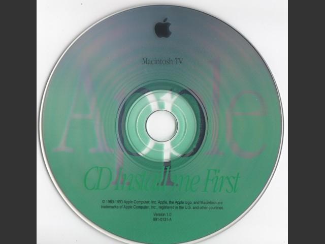 [CD Install me First Macintosh TV] (1993)