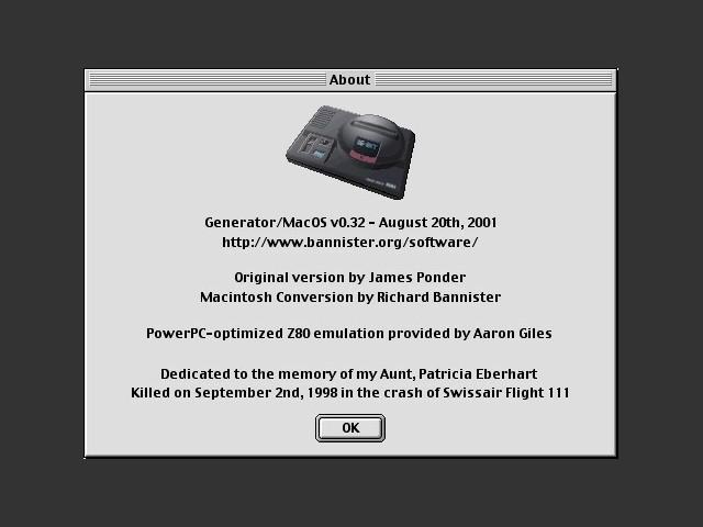 Generator/MacOS (1998)