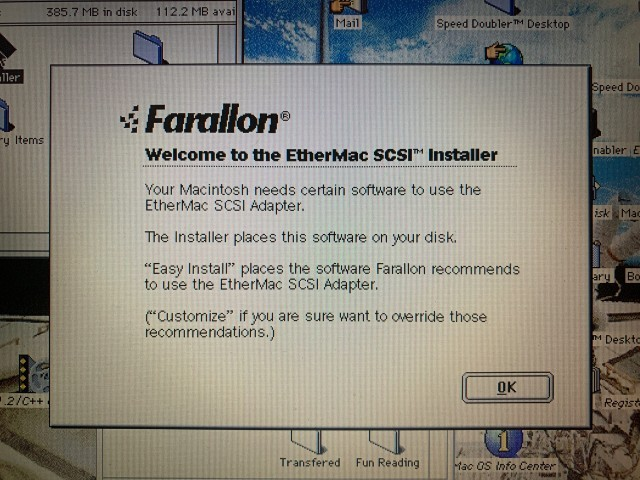 Farallon EtherMac SCSI Installer/Drivers (0)