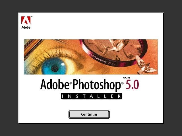 Adobe Photoshop 5.0 (1999)