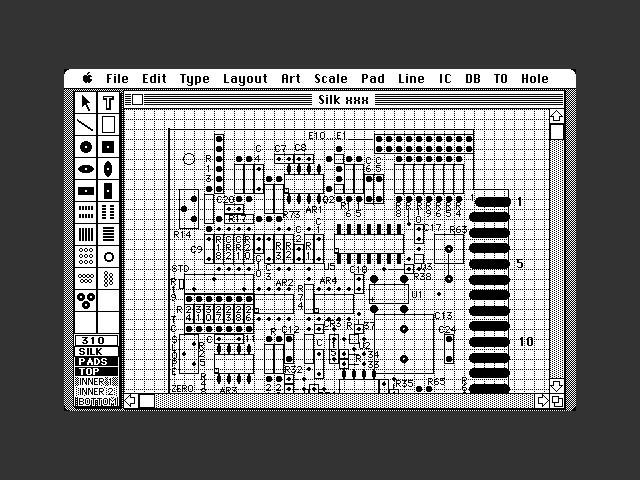 McCAD PCB Design (1985)