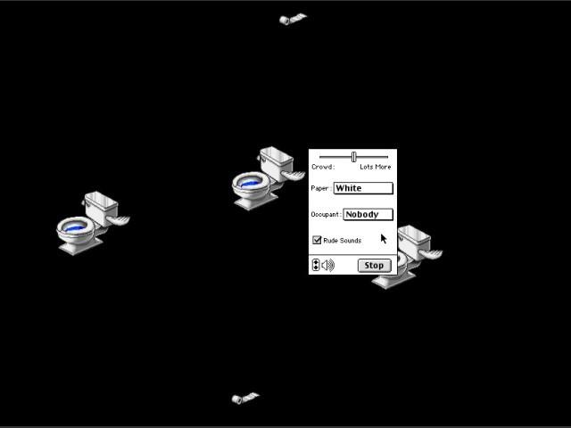 """""""Flying Toilets"""" module"""