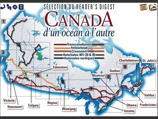 Canada d'un océan à l'autre (1998)