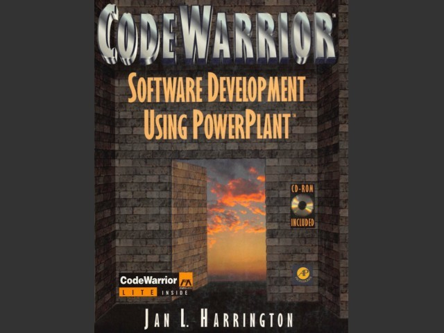 Software Development Using PowerPlant (w/ CodeWarrior Lite) (1996)