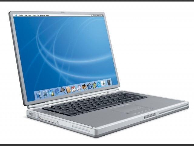 Mac OS PowerBook G4 Titanium 400/500 CD Set (2001)