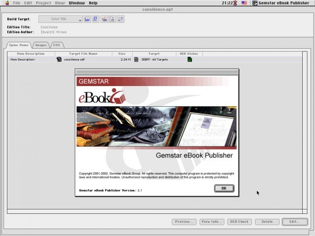 eBook Publisher 2.1 (2002)