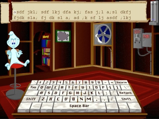 Dream Team: Kid's Typing (1993)