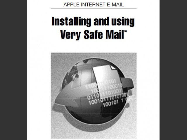 Apple Very Safe Mail (1997)