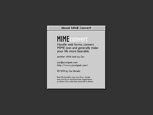 MIMEconvert (1999)