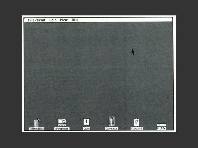 Lisa OS 2 and 3 (1983)
