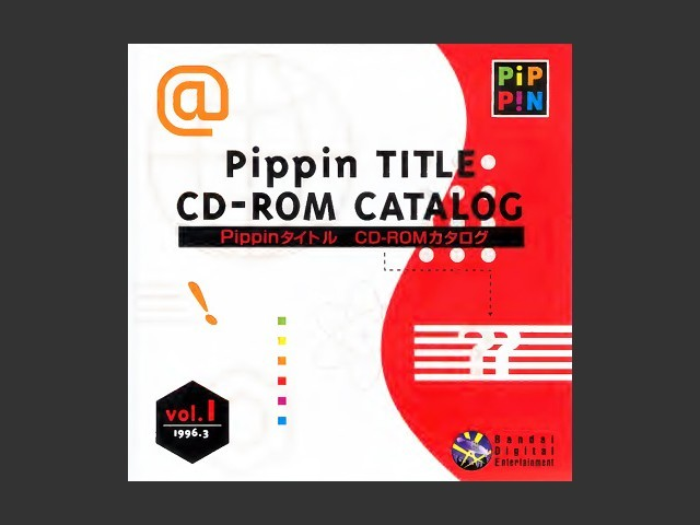 Disk 4 vol.1 (Pippin Navigator, Pippin Network, TV Works, Pippin Title CD-Rom Catalog) (1996)