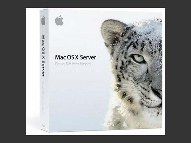Mac OS X Server 10.6 (2009)