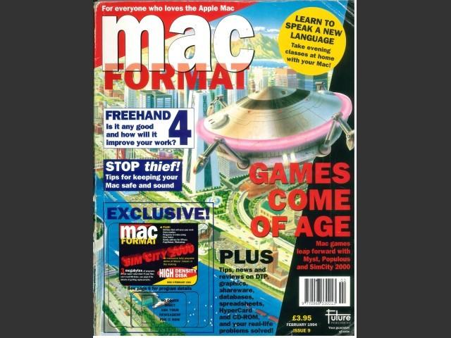 MacFormat 09 (Feb 1994) Magazine & disk (1994)