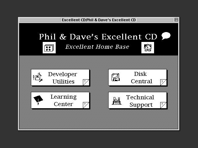 Developer Helper Excellent CD Home Base