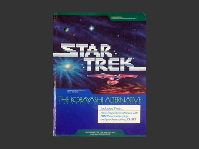 Star Trek: The Kobayashi Alternative (for Apple II) (1985)