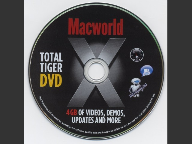 Macworld Total Tiger DVD (2005)