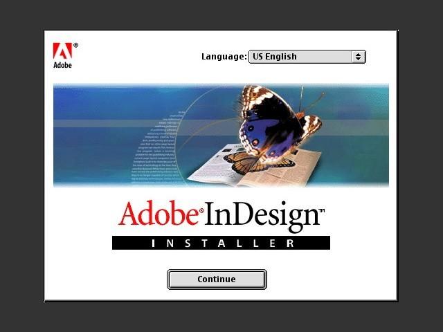 Adobe InDesign 1.0 (1999)