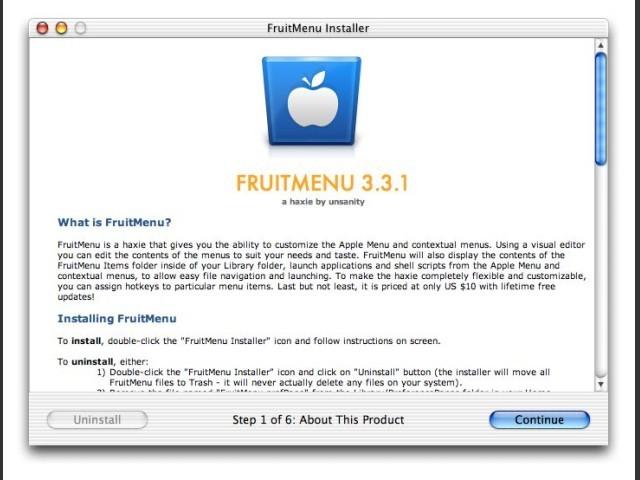 FruitMenu (2002)