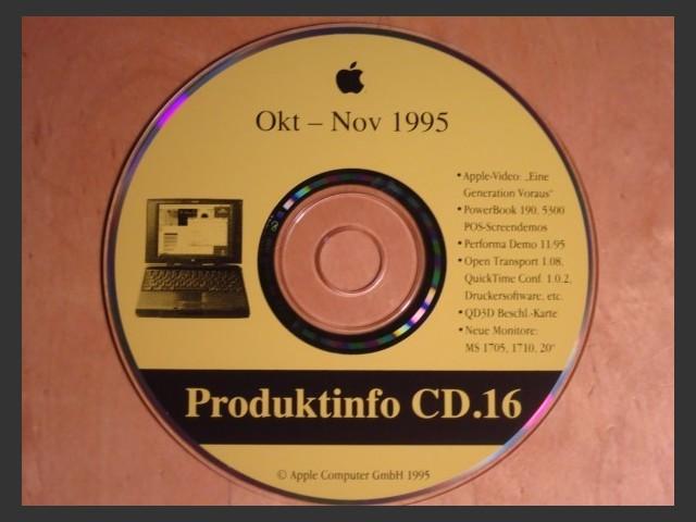 Produktinfo 16 (Germany) (1995)