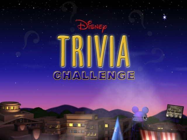 Disney Trivia Challenge (2001)