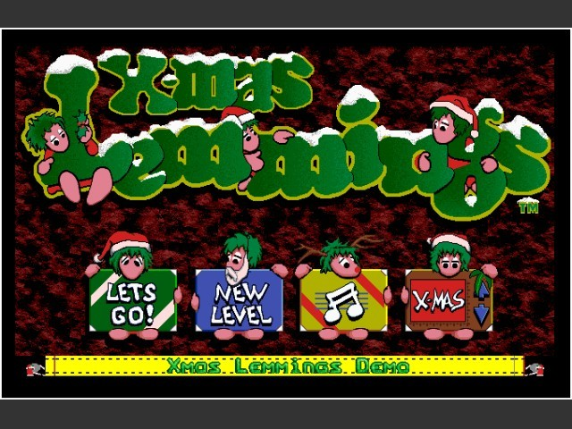 X-Mas Lemmings '92 (1992)