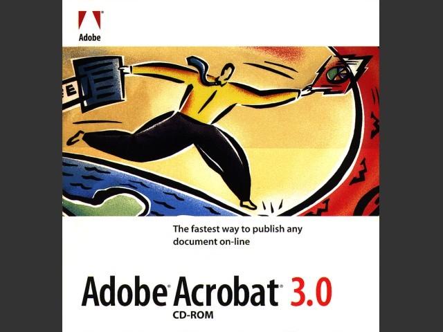 Acrobat 3 CD ROM Cover
