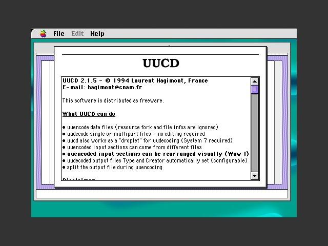 UUCD 2.x (1994)