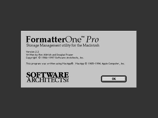 FormatterOne Pro 2.2.2 (1997)