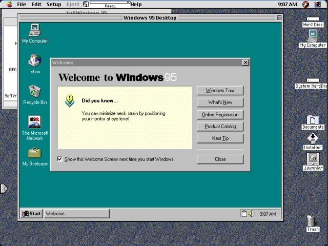 SoftWindows 95 (1997)