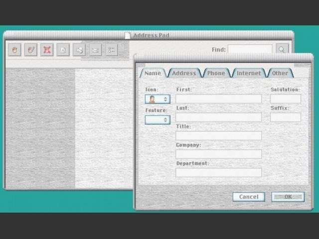 Address Pad v1.2.8 (2000)