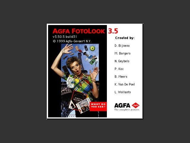 Agfa FotoLook SA 3.5 (1999)