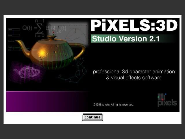 Pixels 3D - About