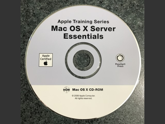 Apple Training Series Mac OS X Server Essentials 2006 (CD) (2006)