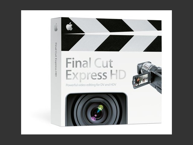 Final Cut Express HD 3.5 (2006)