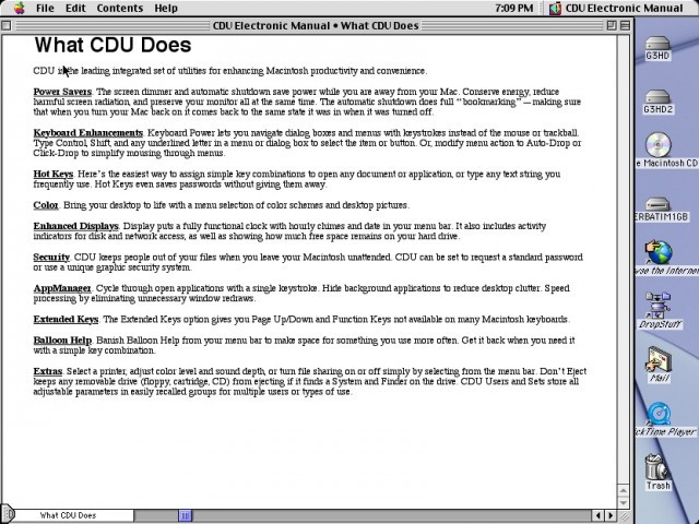 Connectix Desktop Utility (CDU) (1994)
