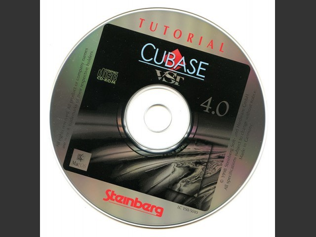 Cubase VST 4.0 Tutorial CD (1998)