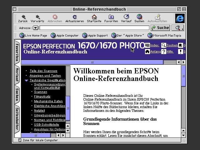 Epson Perfection 1670 Scanner Software CD-ROM (2003)